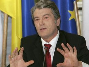 Ющенко заявил о запланированном Россией сценарии газового конфликта