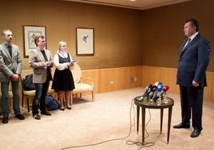 Банковая опровергла информацию о запланированной пресс-конференции Януковича в Нью-Йорке
