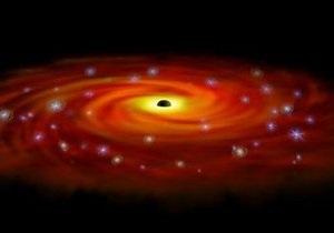Физики зафиксировали излучение черной дыры