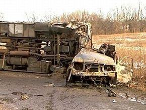 ДТП под Харьковом: 5 погибших, 19 пострадавших