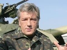 Ющенко дал прикурить начальнику авиации