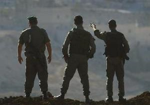 Армия Израиля захватила 55 боевиков на Западном берегу Иордана