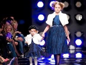 Двухлетняя дочь Кильчицкой вышла на подиум