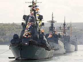 Ъ: Черноморский флот списывают на российский берег