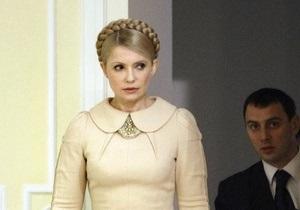 Тимошенко пообещала избавиться от  балласта  в своей команде