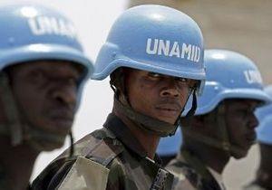 ООН - В Судане убиты семь миротворцев ООН