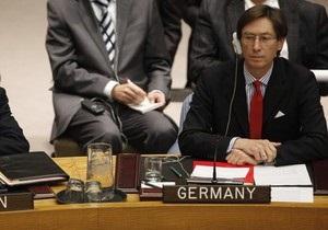 Власти Германии считают рискованной резолюцию СБ ООН по Ливии