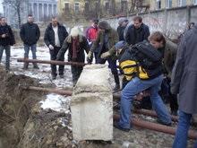 На Пейзажной аллее Киева прошел Повстанческий субботник