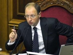 Указ Ющенко вступил в силу: Яценюк открыл Раду