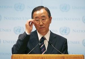 Пан Ги Мун предлагает увеличить состав группы наблюдателей в Сирии в 10 раз