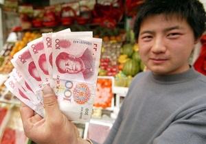 Китай не намерен снижать курс юаня