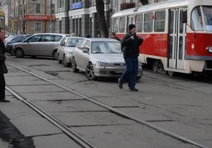 Киев в этом году потратит 205 млн грн на ремонт 17,6 км трамвайных путей