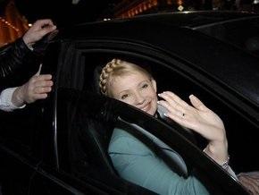 МЧС получило сообщение о минировании кортежа Тимошенко во время ее визита на Волынь