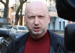Турчинов заявил, что у Тимошенко серьезные проблемы со спиной