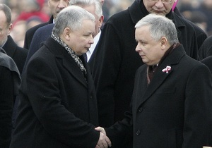 Google перепутал погибшего президента Польши с его родным братом