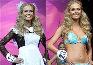 Самой красивой девушкой Москвы стала блондинка