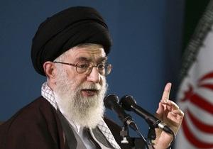 Верховный лидер Ирана считает США и Британию главными врагами