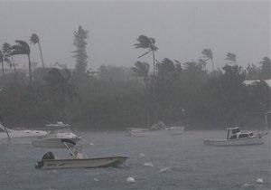 На Бермудские острова обрушился ураган Игор