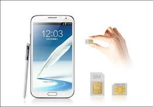 Samsung выпустит Galaxy Note II с поддержкой двух SIM-карт
