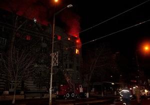 Жители квартир, пострадавших в результате ночного пожара в Киеве, получат по 10 тысяч гривен