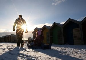 В Британии сильные морозы привели к перебоям с поставкой электроэнергии