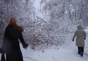 Фотогалерея: Киев завалило снегом