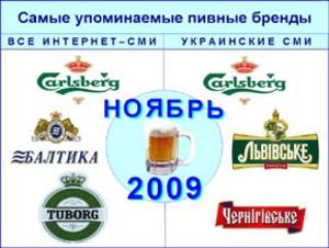 Carlsberg остается самым упоминаемым пивным брендом