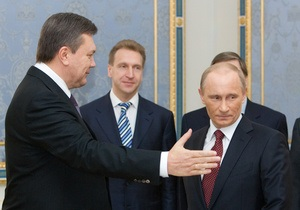 Встреча Януковича с Путиным: Президент допустил увеличение товарооборота до $50 млрд