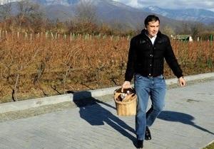 Щиро дякую за теплі слова. Саакашвили поблагодарил украинцев, поздравивших его с днем рождения