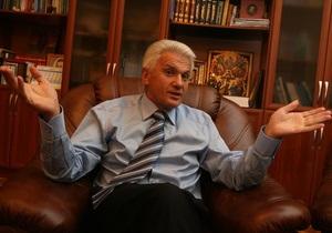 Литвин зарегистрировал проект постановления о проведении досрочных выборов мэра Киева
