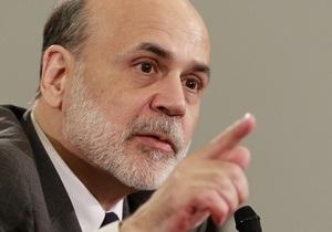 Бернанке рассказал, какие уроки преподнес миру кризис