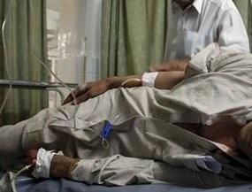 В Запорожье санитар упал с трупом в подвал судмедэкспертизы