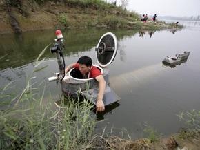 Китаец собрал подводную лодку в домашних условиях