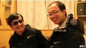 Китайский слепой диссидент  укрылся в посольстве США