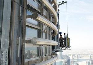 Вид с крыши Бурдж-Халифа. Google отсняла панорамы с самого высокого в мире