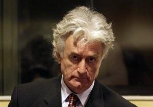 Караджич обвинил ООН в затягивании войны на Балканах