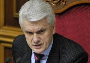 Тарасюк призвал  узурпатора  Литвина подать в отставку