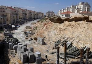 Израиль строит новый город на спорной с Палестиной территории