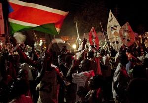 Сегодня Южный Судан будет провозглашен независимым государством
