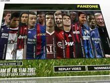 УЕФА огласила Сборную 2007 года