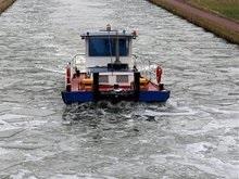 Во льдах Азовского моря застряло панамское судно
