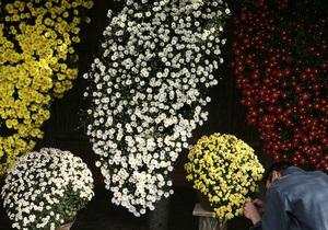 В Киеве на Певческом поле пройдет выставка цветов