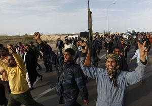 Войска ПНС Ливии захватили аэропорт и укрепления Себха