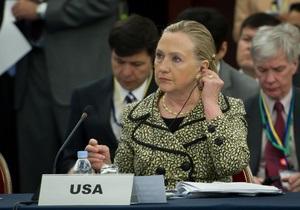 Клинтон уверена, что для урегулирования ситуации в Сирии остается все меньше времени