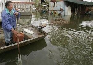 Паводки - погода - дороги - наводнение - потоп - Из-за подтопления ограничено движение по дорогам в пяти областях