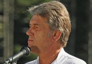 Ющенко: Демократическое движение переживает  раковые метастазы