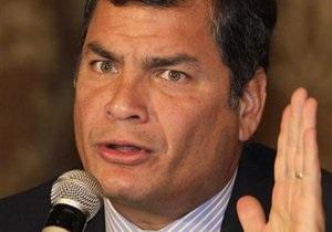 Президент Эквадора: Консул, выдавший документы Сноудену, понесет наказание