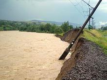 На западе Украины наблюдается снижение уровня воды в реках