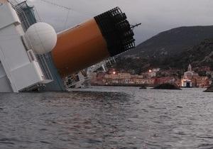 На борту Costa Concordia находилось больше украинцев, чем считалось ранее