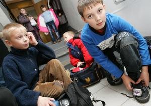 Корреспондент: В Украине растет самое хилое поколение школьников